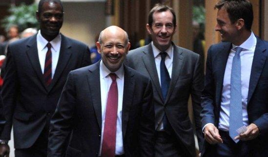 Goldman Sachsin mafian jäseniä.