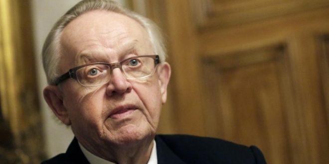 Martti Ahtisaari kannattaa globaalia harvainvaltaa, kansanvallan oikeuksien kustannuksella: hänen mukaan kansanäänestykset ovat myrkkyä, olipa kyse sitten Suomen Nato-jäsenyydestä tai Britannian suhteesta Euroopan unioniin.