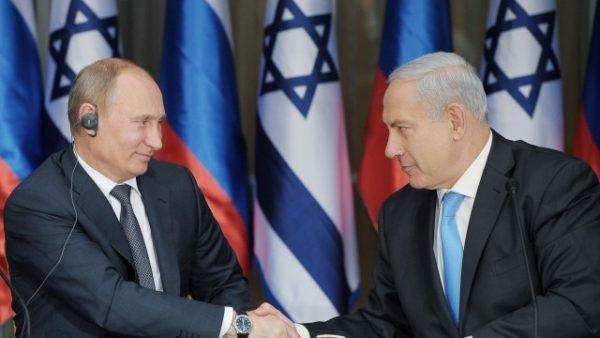 Vladimir Putin ja Benjamin Netanyahu.