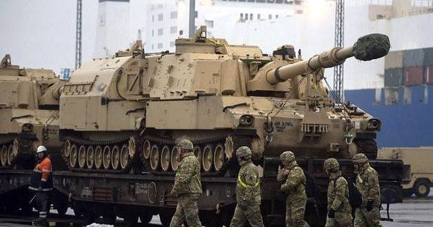 USAn panssariajoneuvo