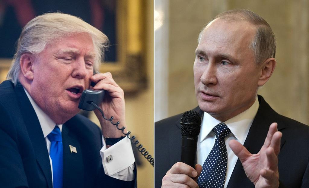 Donald Trump ja Vladimir Putin kävivät hiljattain hedelmällisen puhelinkeskustelun.