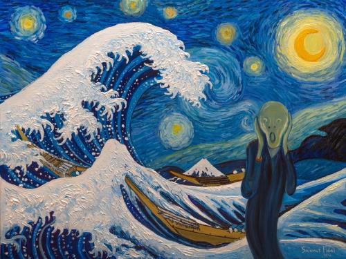 psykoosi taiteilijan silmin