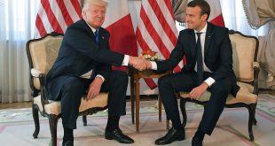 Macron och Trump