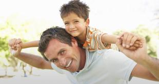 kansikuva isä ja poika
