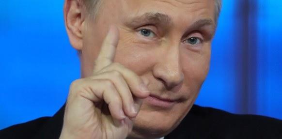 Venäjällä presidentti Vladimir Putin.