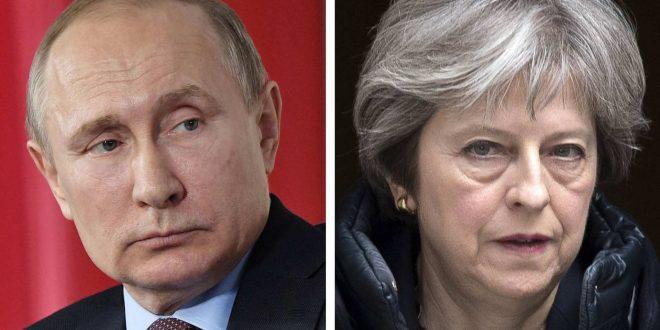 Putin ja May