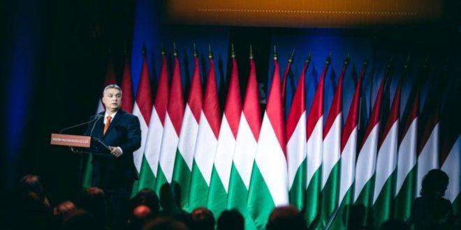 Orban puhuu Budabestissa