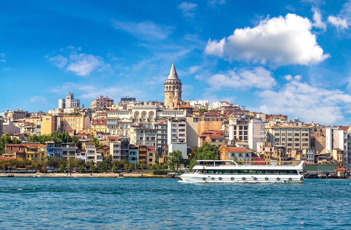 Näkymä Istanbulista.