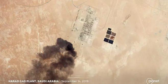 paksuasavua s arabian öljyntotantoon kohdistuneista iskuista