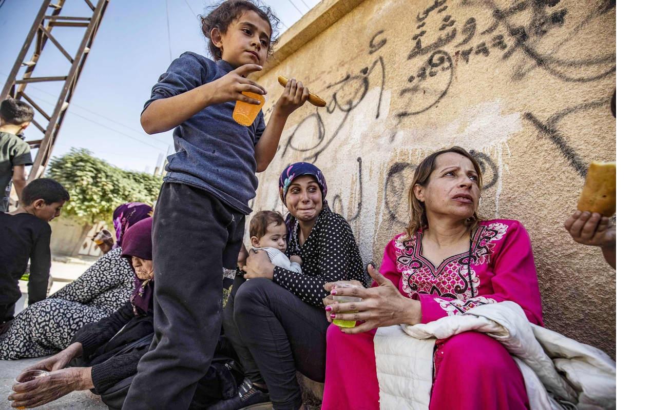Kurdipakolaisia.