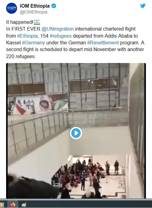 Siirtolaisia Afrikasta Saksaan