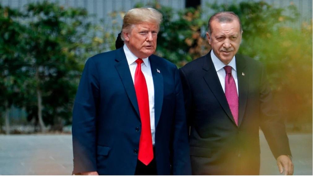 Presidentit Trump ja Erdoğan.