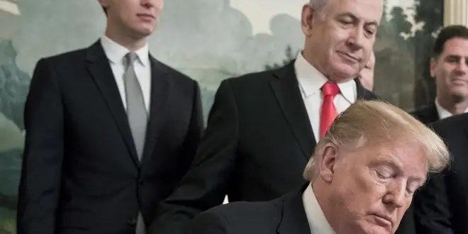 Kushner, Netanjahu ja Trump