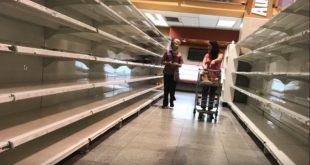 Yhteiskunnallisen kriisin syventyessä saattavat tavarat loppua kaupoista.