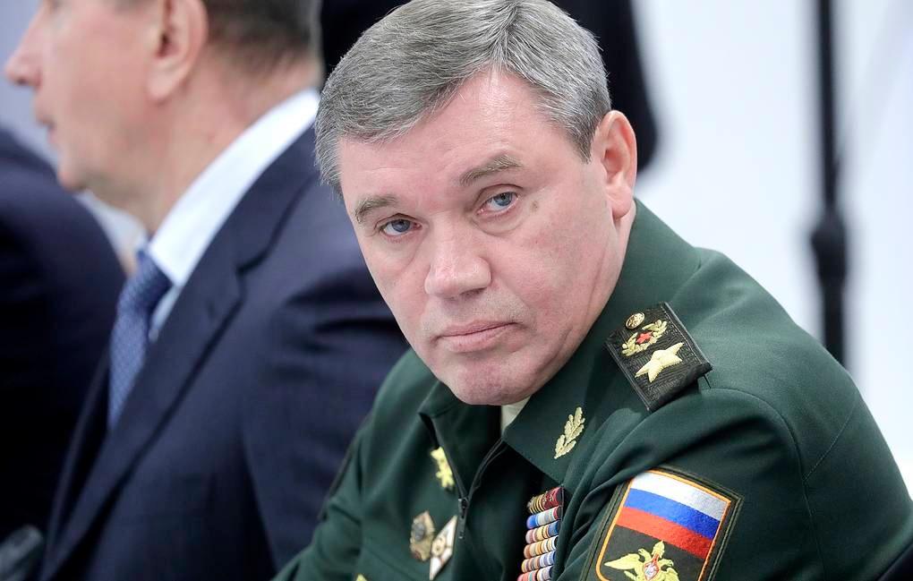 Venäjän armeijan komentaja kenraali Valery Gerasimov.