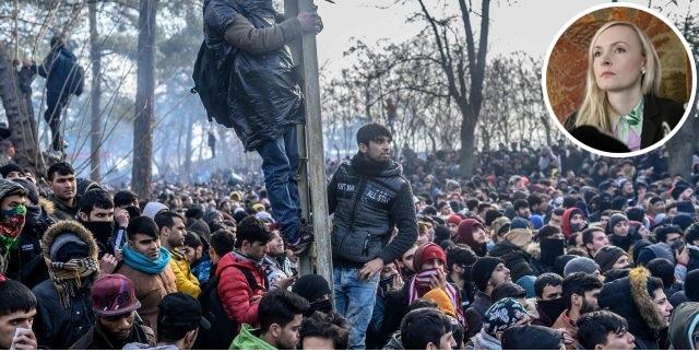 Miesinvaasio Kreikan rajalla