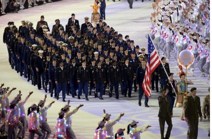 amerikkalaiset sotilasurheilijat