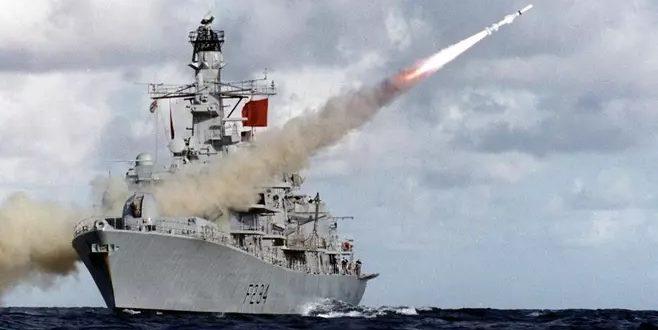 Kuva: Ho. Brittialus HMS Iron Duke on saapunu Helsinkiin nyt kuluvana viikonloppuna.