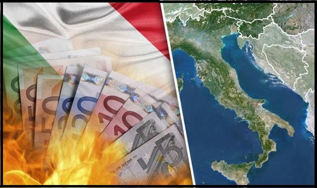 Italian valtiollinen velkakriisi saattaa johtaa eurovaluutan ja euroopan unionin hajoamiseen.