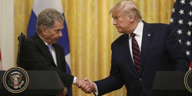 Niinistö and Trump