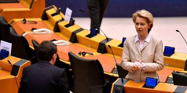 Euroopan komission johtaja Ursula Von der Leyen. Jon Thys/TT Nyhetsbyrån.