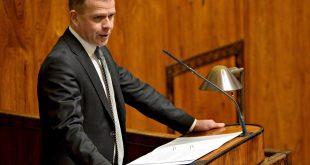 Kokoomuksen puheenjohtaja Petteri Orpo haluaa laajaa keskustelua perustuslakituomioistuimeen liittyen.   © MIKKO STIG/LK