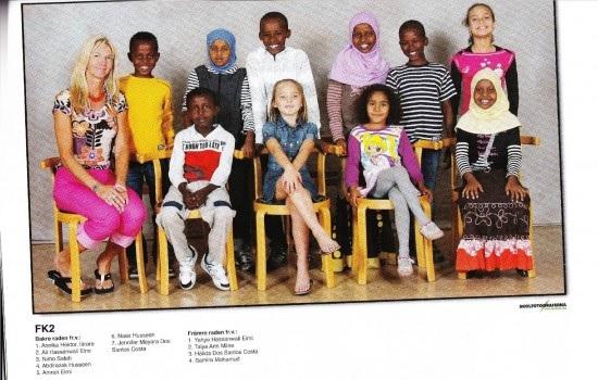 Ruotsalaisten koulujen arkipäivä näyttää usein tällaiselta.